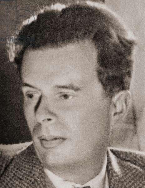 Aldous Leonard Huxley, after a contemporary print