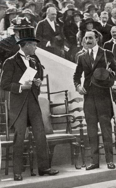 The Prince of Wales and Alfonso XIII of Spain