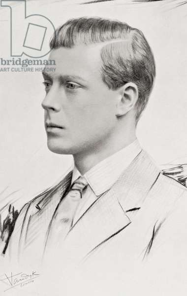 Prince Edward, future Edward VIII, later Duke of Windsor