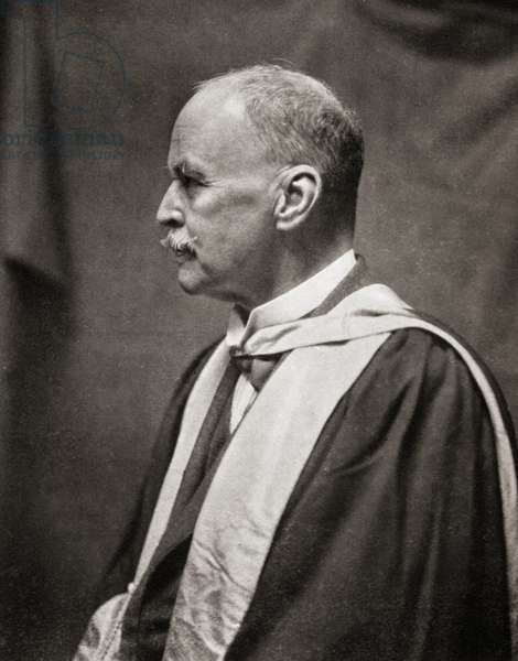 Sir Ronald Ross, from Master Minds of Modern Science, published 1930 (b/w photo)