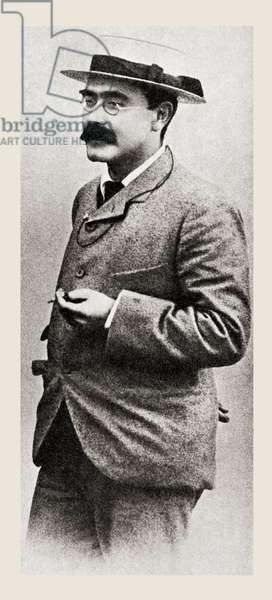 Joseph Rudyard Kipling, from 'The Story of Twenty Five Years', published 1935 (b/w photo)