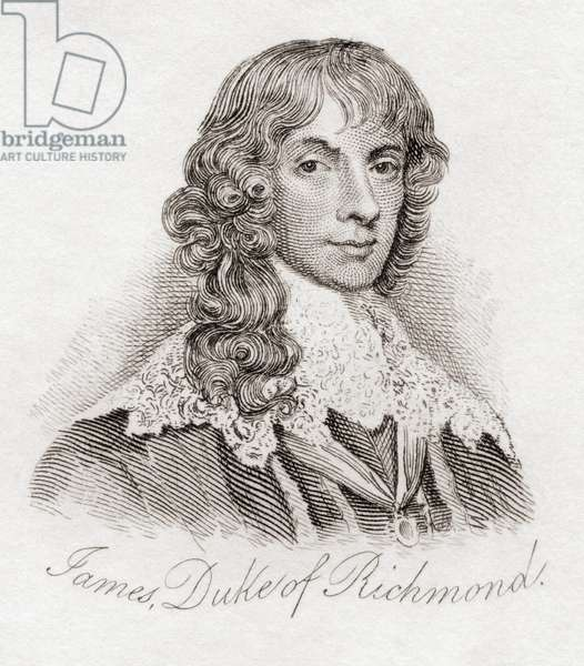 James Stuart, 1st Duke of Richmond and 4th Duke of Lennox, from the book Crabbs Historical Dictionary pub. 1825