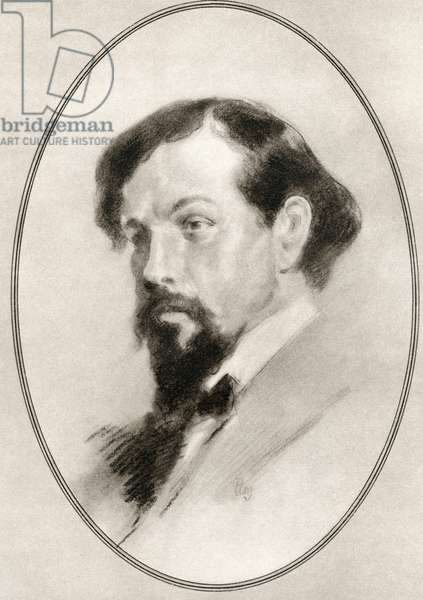 Achille-Claude Debussy, from Living Biographies of Great Composers
