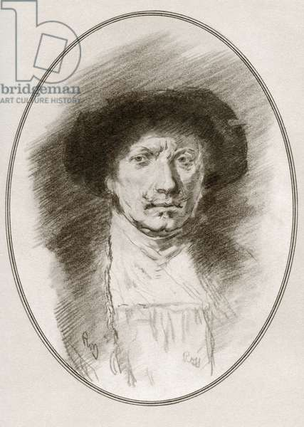 Rembrandt Harmenszoon van Rijn, from Living Biographies of Great Painters