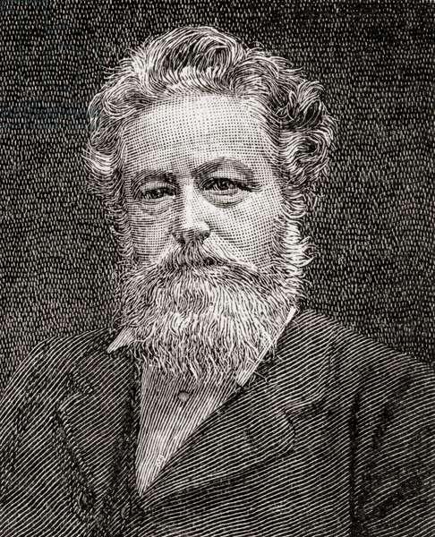 William Morris, 1834 –  1896.