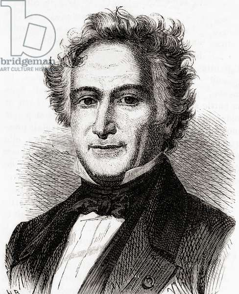 Michel Eugène Chevreul, from 'Les Merveilles de la Science', published c.1870 (engraving)