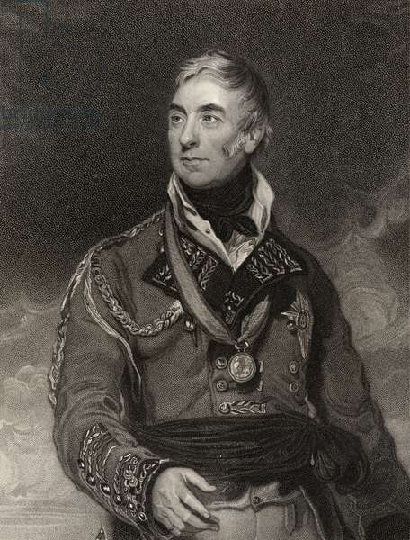 Thomas Graham, engraved by H. Meyer, from 'National Portrait Gallery, volume III', published c.1835 (litho)