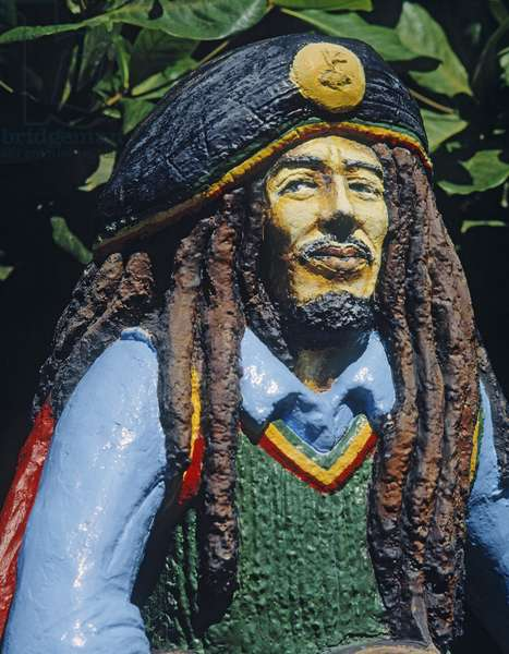 Bob Marley (cement) (detail of 383453)