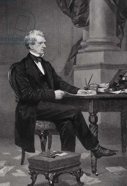 Portrait of William Henry Seward (1801-72)