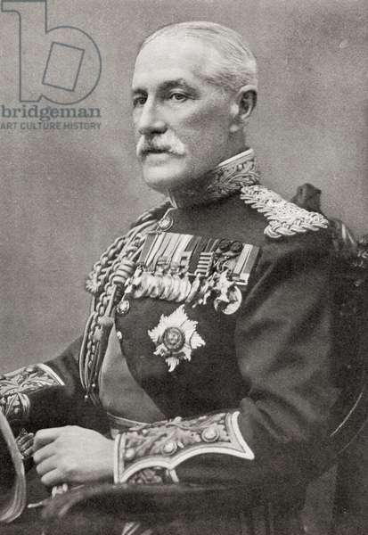 General Sir Horace Lockwood Smith-Dorrien, British soldier and commander, from The Year 1914 Illustrated.