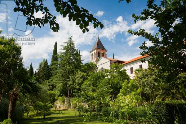The Visovac Monastery, Krka National Park, Nacionalni park Krka, Dalmatia, Croatia (photo)