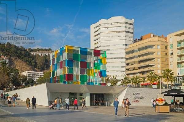 Pompidou Centre.  Malaga, Spain
