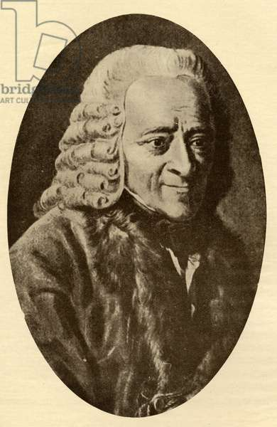 Voltaire (1694-1778) (litho)