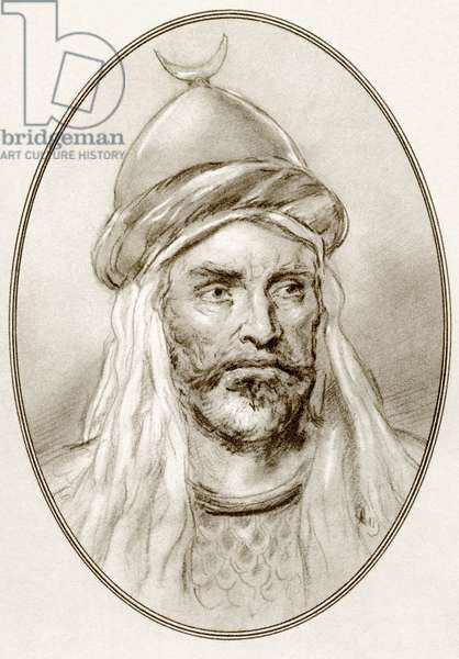 An-Nasir Salah ad-Din Yusuf ibn Ayyub, from Living Biographies of Famous Rulers.