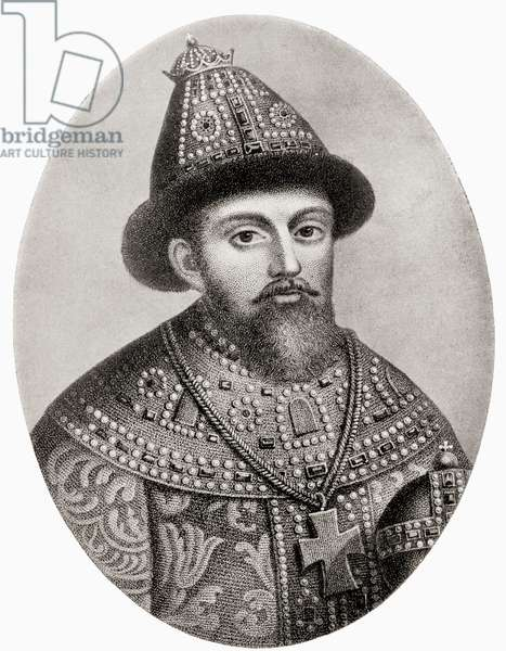 Michael I of Russia, The first Russian Tsar of the house of Romanov, from Hutchinson's History of the Nations, pub.1915