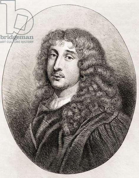 Duc Francois Rochefoucauld (1613-80) (etching)