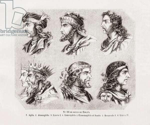 Six Spanish Kings.