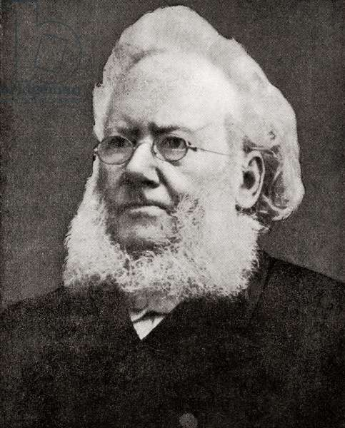 Henrik Johan Ibsen, from Hutchinson's History of the Nations, pub.1915
