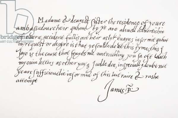James VI and I, 1566 – 1625.