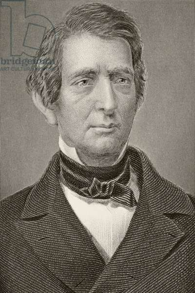 William Henry Seward, from 'Gallery of Historical Portraits', published c.1880 (litho)
