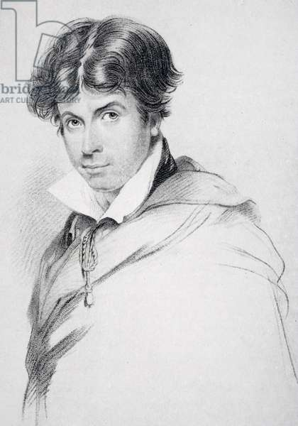 James Henry Leigh Hunt (1784-1859) aged 44, engraved by Henri Meyer (1844-99) from 'The Life of Charles Lamb, Volume I' by E.V Lucas, published 1905 (litho)