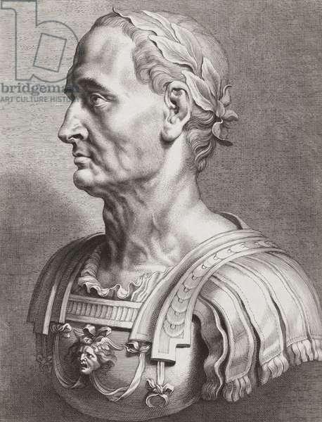 Julius Caesar.  Bust. Portrait.