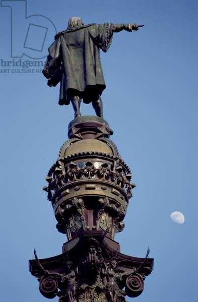 Statue of Christopher Columbus (1451-1506) (photo)