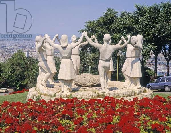 Monument to the Sardana Dance, Montjuic Mountain (photo)