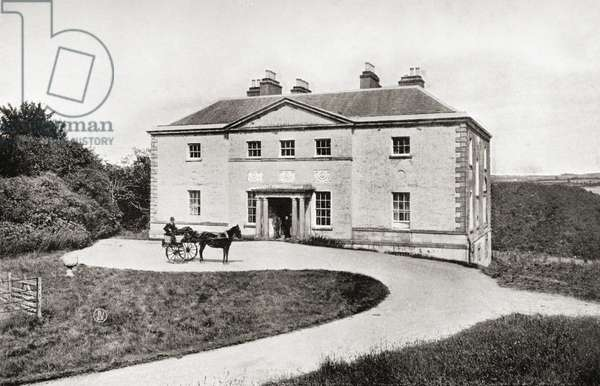 Avondale, County Wicklow, Ireland. The home of Charles Stewart Parnell 1846-1891. Irish patriot and politician
