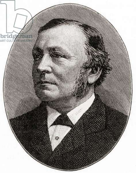 Sir Henry Enfield Roscoe, 1833 –  1915.