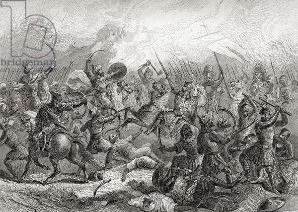 Battle of Guadalete, Spain in 711