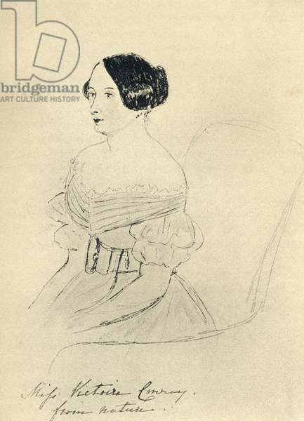 Miss Victoire Conroy (engraving)