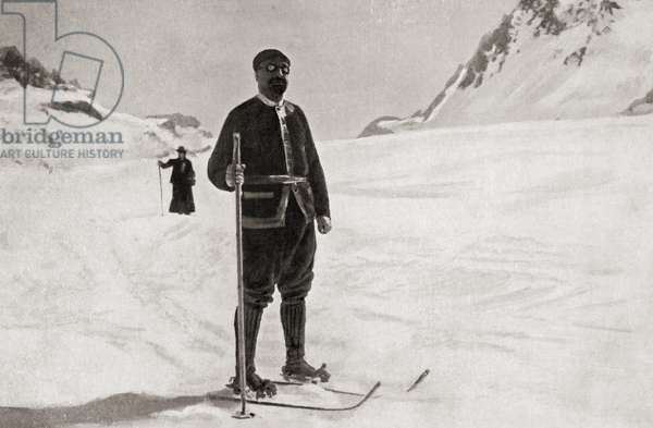 Jean-Baptiste August Étienne Charcot, 1867 – 1936. French scientist, medical doctor and polar scientist. Seen here during his second expedition of the Antarctic regions from 1908 to 1910. From Heroes of Modern Adventure, published 1927