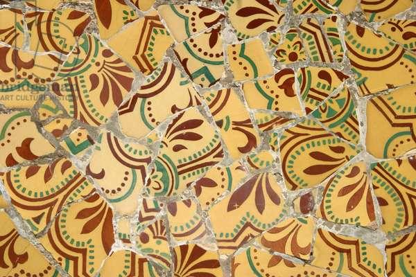 Ceramic tile, 1900-14 (ceramic)