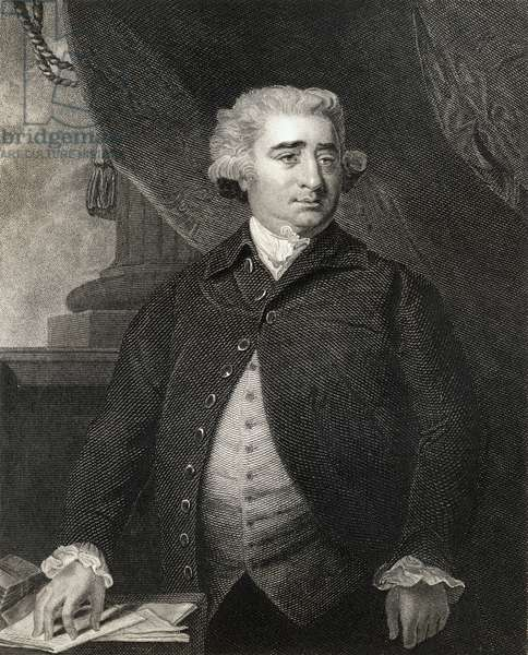 Portrait of Charles James Fox (1749-1806) (engraving)
