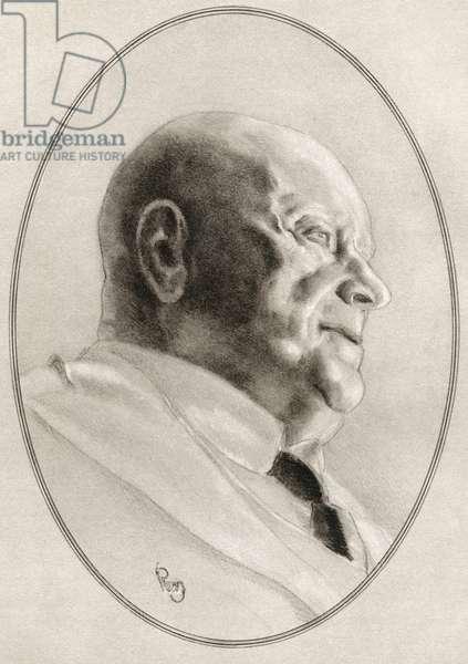Jean Sibelius, born Johan Julius Christian Sibelius, from Living Biographies of Great Composers