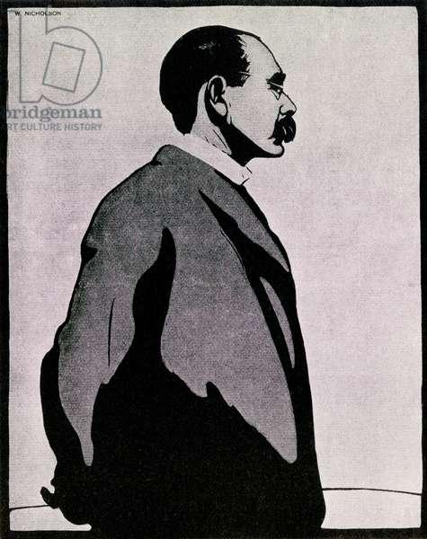 Portrait of Joseph Rudyard Kipling