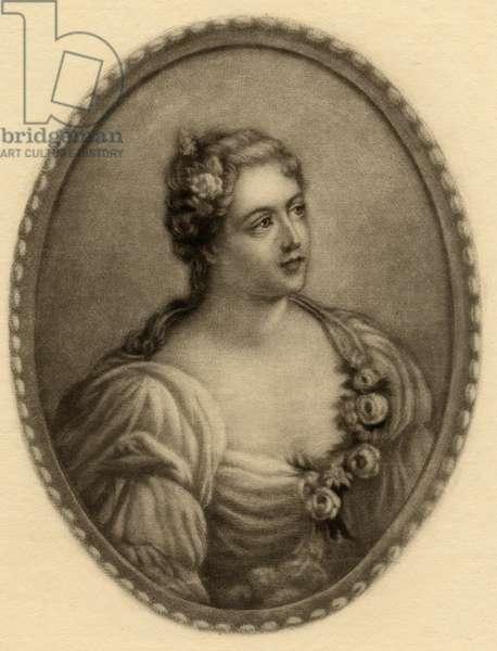 Madame de Parabere (d.1759) (litho)