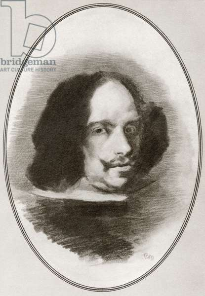 Diego Rodriguez de Silva y Velazquez, from Living Biographies of Great Painters