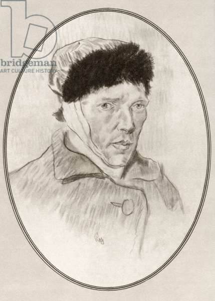 Vincent Willem van Gogh, from Living Biographies of Great Painters