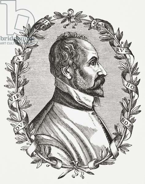 Pontus de Tyard, 1878 (litho)
