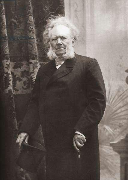 Henrik Johan Ibsen, after a contemporary print