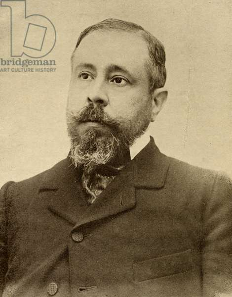 Jose Valentine Fialho d'Almeida (1857-1911) (b/w photo)