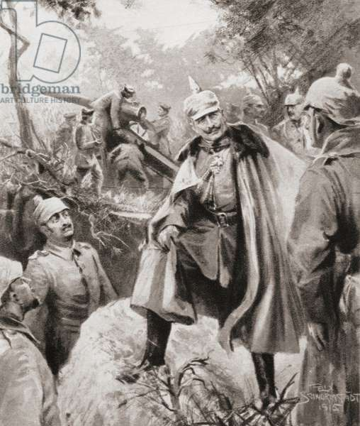 Wilhelm II, German Emperor and King of Prussia, from The Illustrated War News, 1915