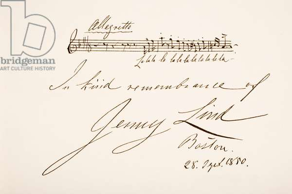 Johanna Maria Lind, 1820 – 1887.