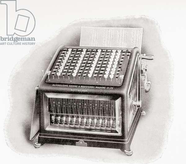 Burroughs Adding and Registering Machine