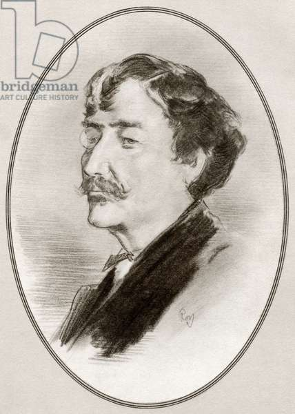 James Abbott McNeill Whistler, from Living Biographies of Great Painters