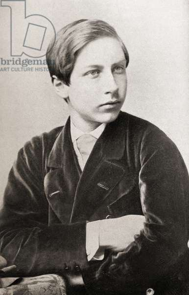 Kaiser Wilhelm II, 1859-1941. Emperor of Germany and King of Prussia, 1888-1918.  Seen here as a boy.