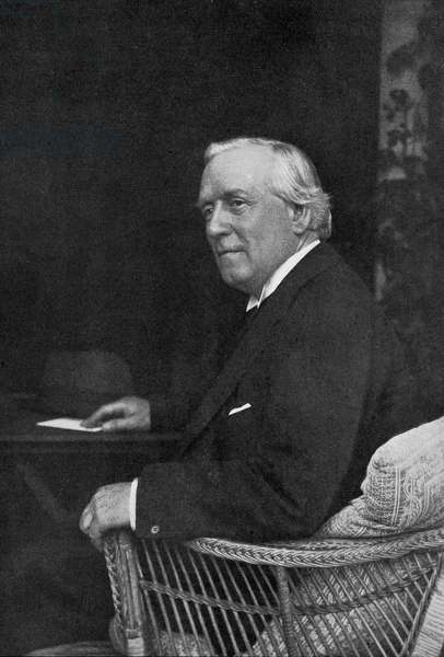 Herbert Henry Asquith, from 'The Year 1912', published London, 1913 (litho)