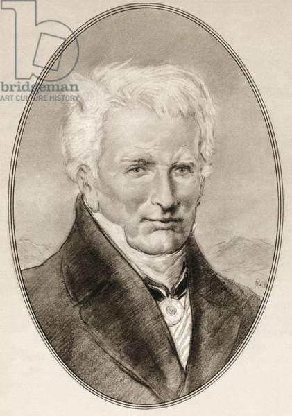 Friedrich Wilhelm Heinrich Alexander von Humboldt, from Living Biographies of Famous Men.